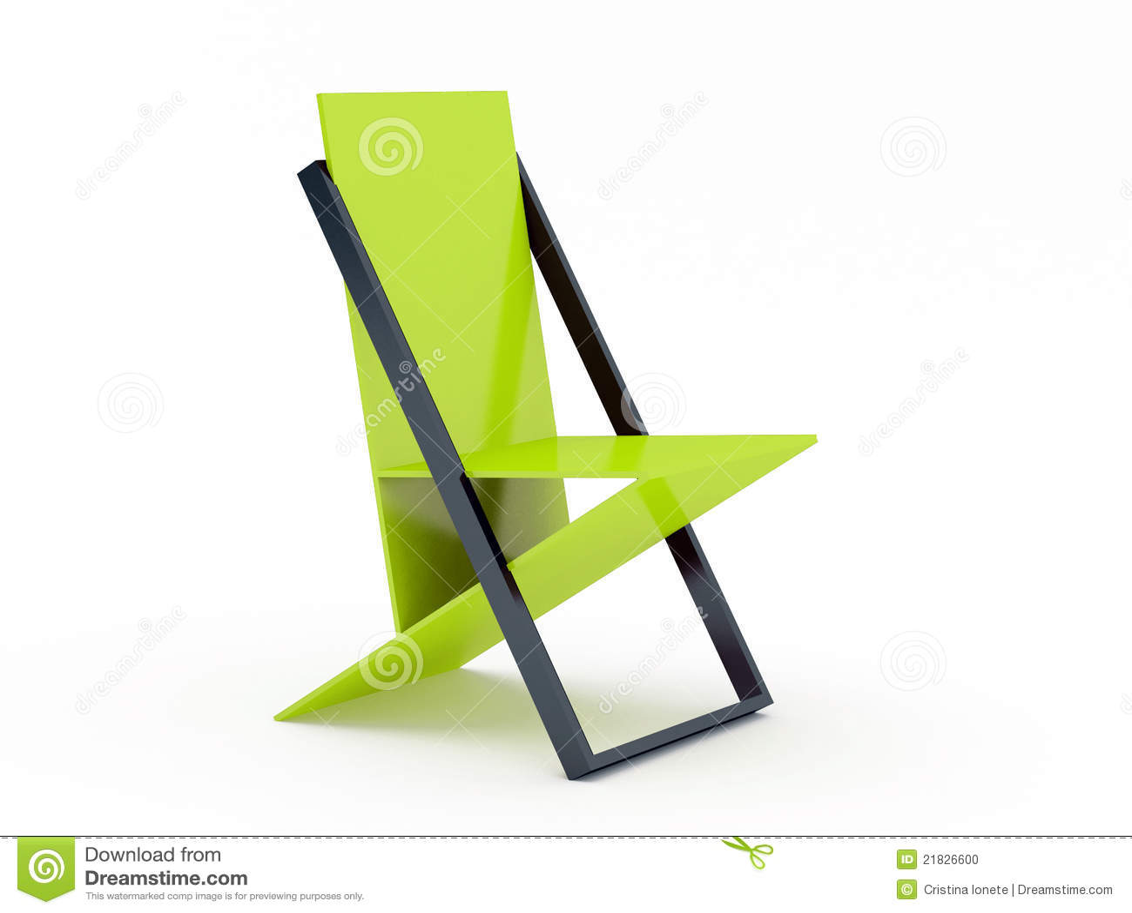 Moderne groene stoel stock foto afbeelding bestaande uit ontwerp 21826600 - Moderne stoel ...