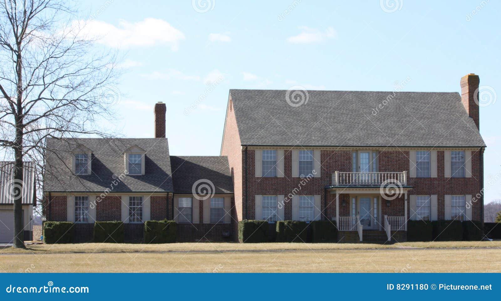 Moderne Häuser außen stockfoto. Bild von amerika, outdoor - 8291180