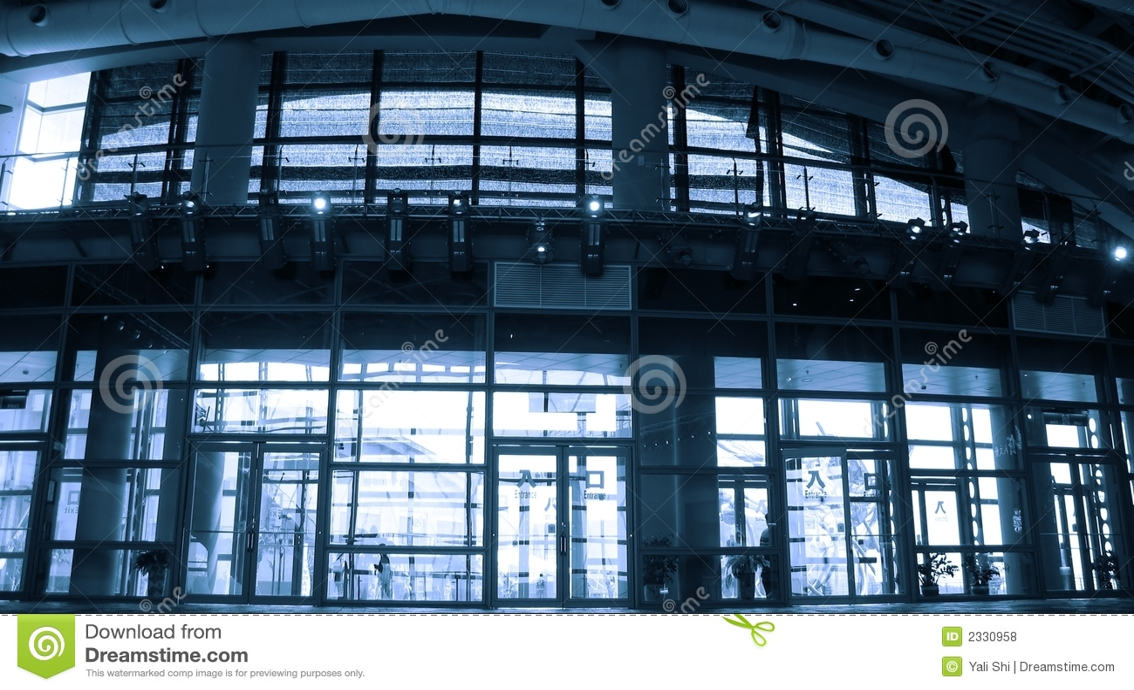 Moderne hal stock foto afbeelding bestaande uit staal 2330958 - Hal ingang ontwerp ...