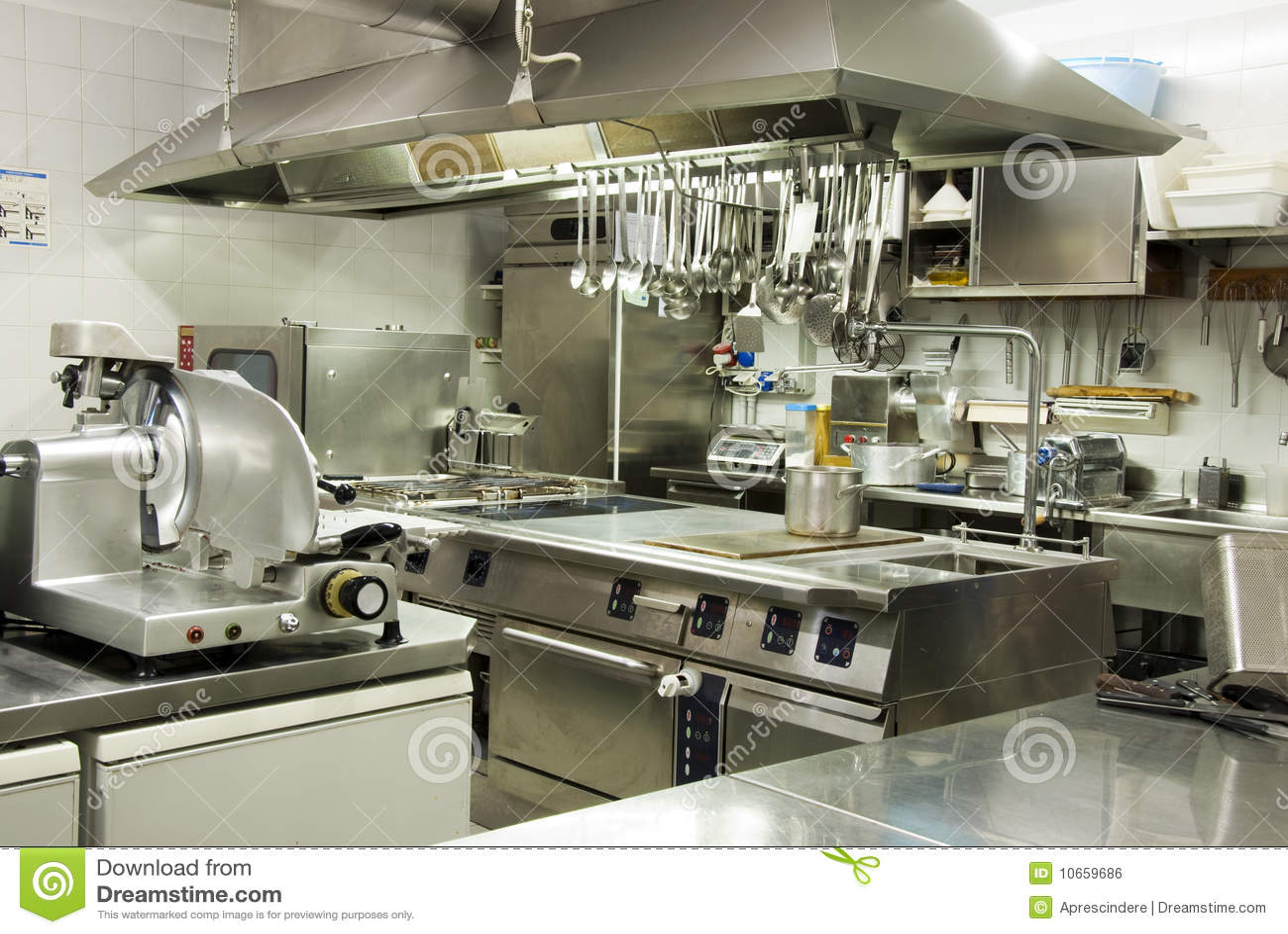 Moderne Keuken Restaurant : Modern Hotel Kitchen