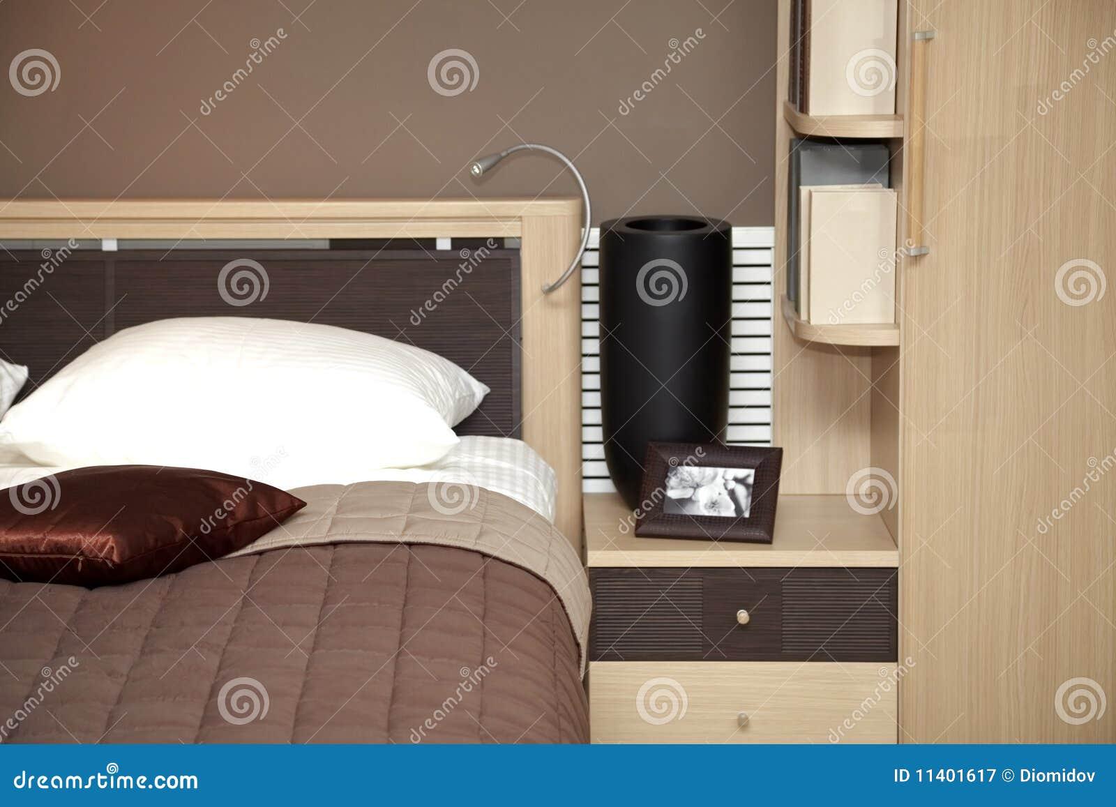 Moderne huis binnenlandse slaapkamer