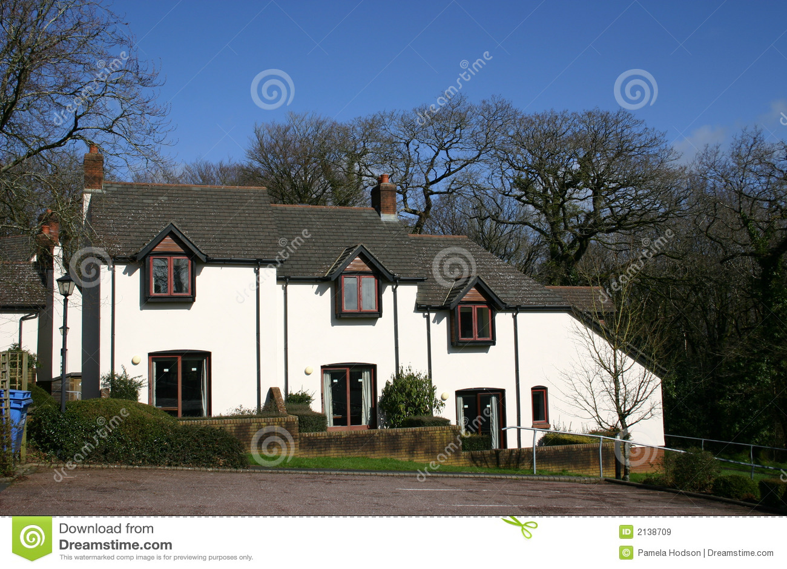 moderne huizen stock afbeelding afbeelding bestaande uit modern 2138709