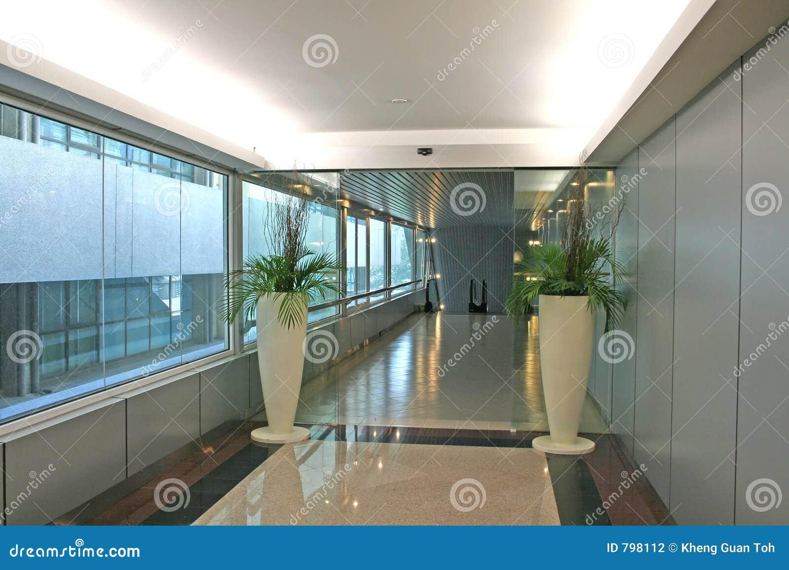 Moderne ingang stock foto. afbeelding bestaande uit collectief 798112