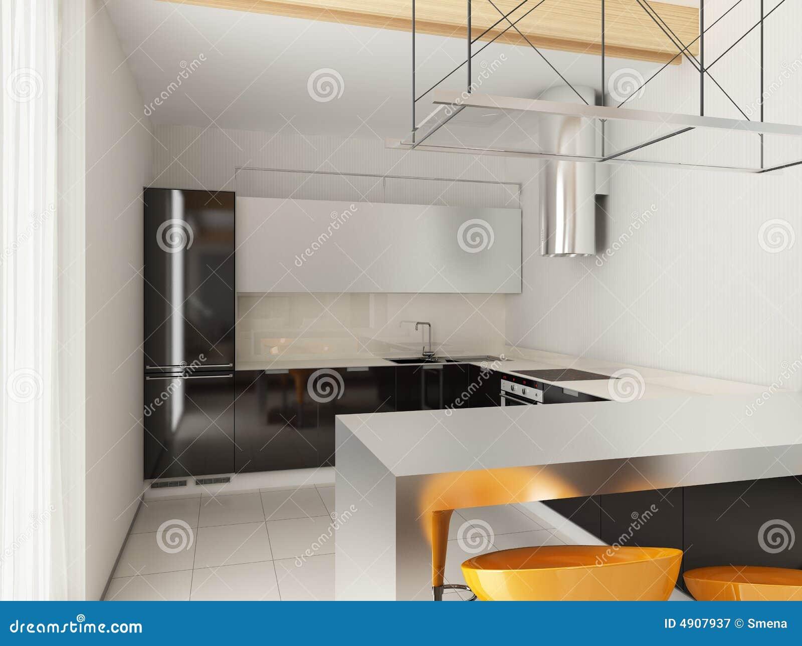 Moderne innenarchitektur stock abbildung bild von for Moderne innenarchitektur fotos
