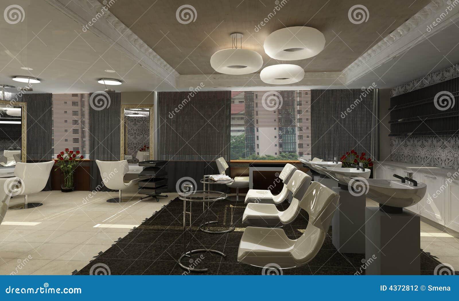 Moderne Innenarchitektur (privat Wohnung 3d übertragen Stock ...