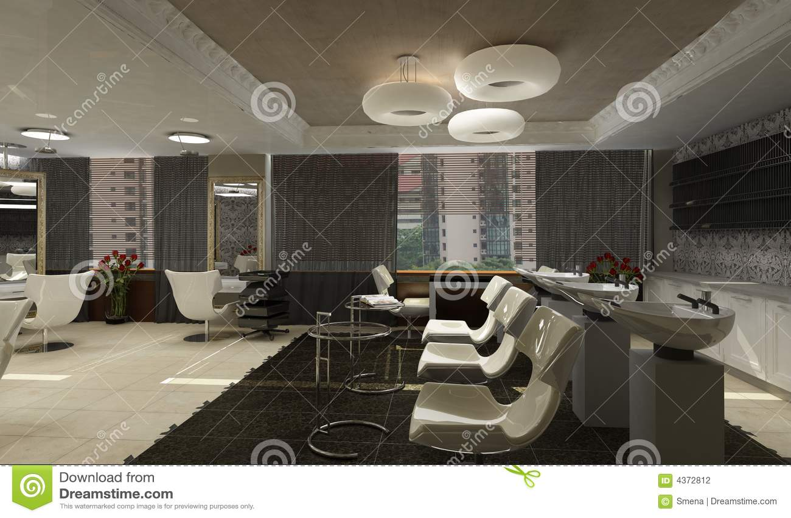 Moderne innenarchitektur privat wohnung 3d übertragen