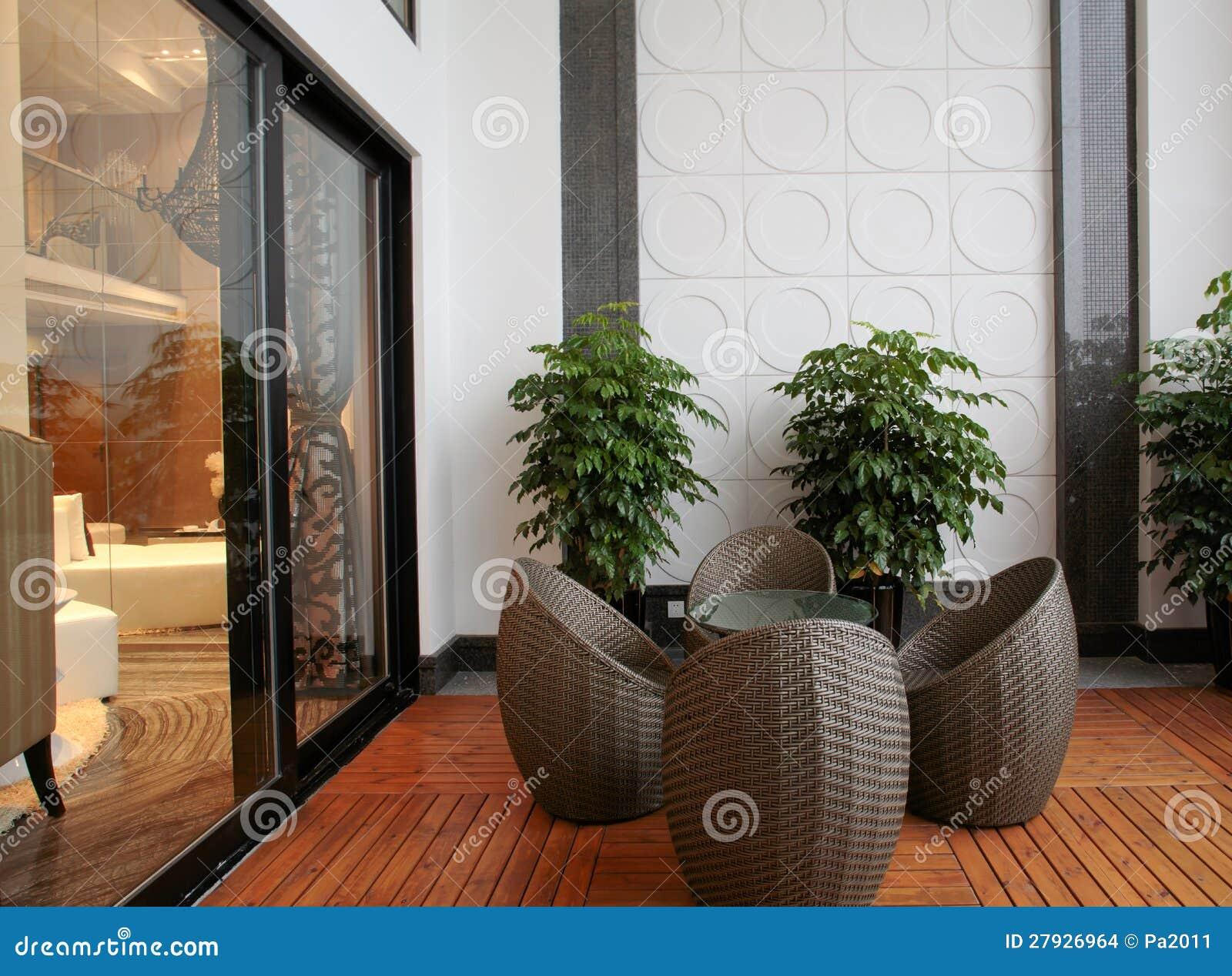 moderne innenarchitektur wohnzimmer stockbilder bild 27926964. Black Bedroom Furniture Sets. Home Design Ideas