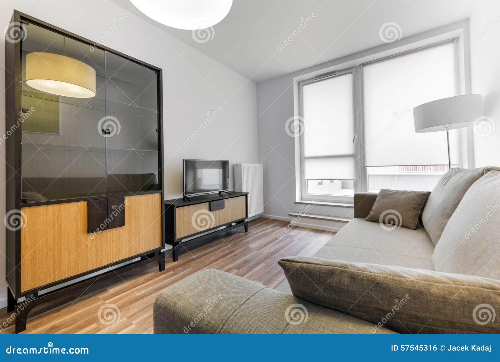 Moderne innenarchitektur wohnzimmer  Moderne Innenarchitektur: Wohnzimmer Stockfoto - Bild: 57545316