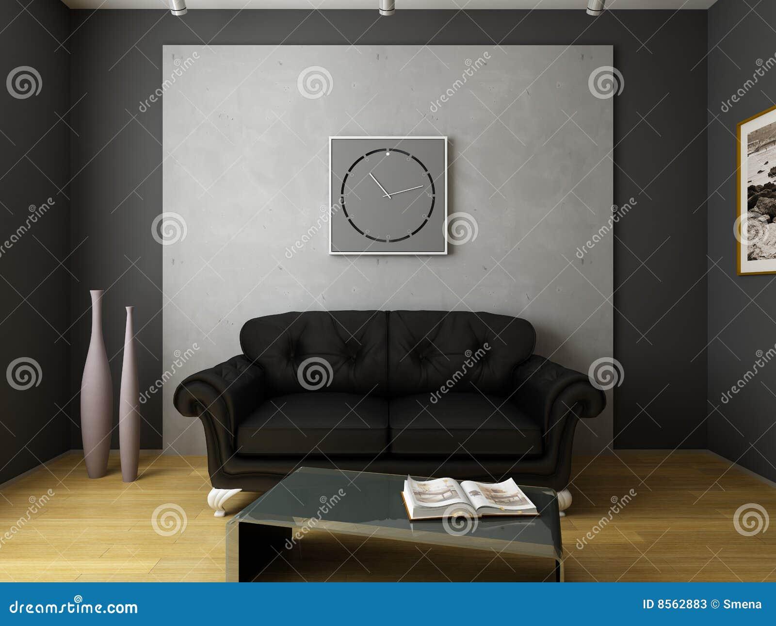 Moderne intérieur de conception