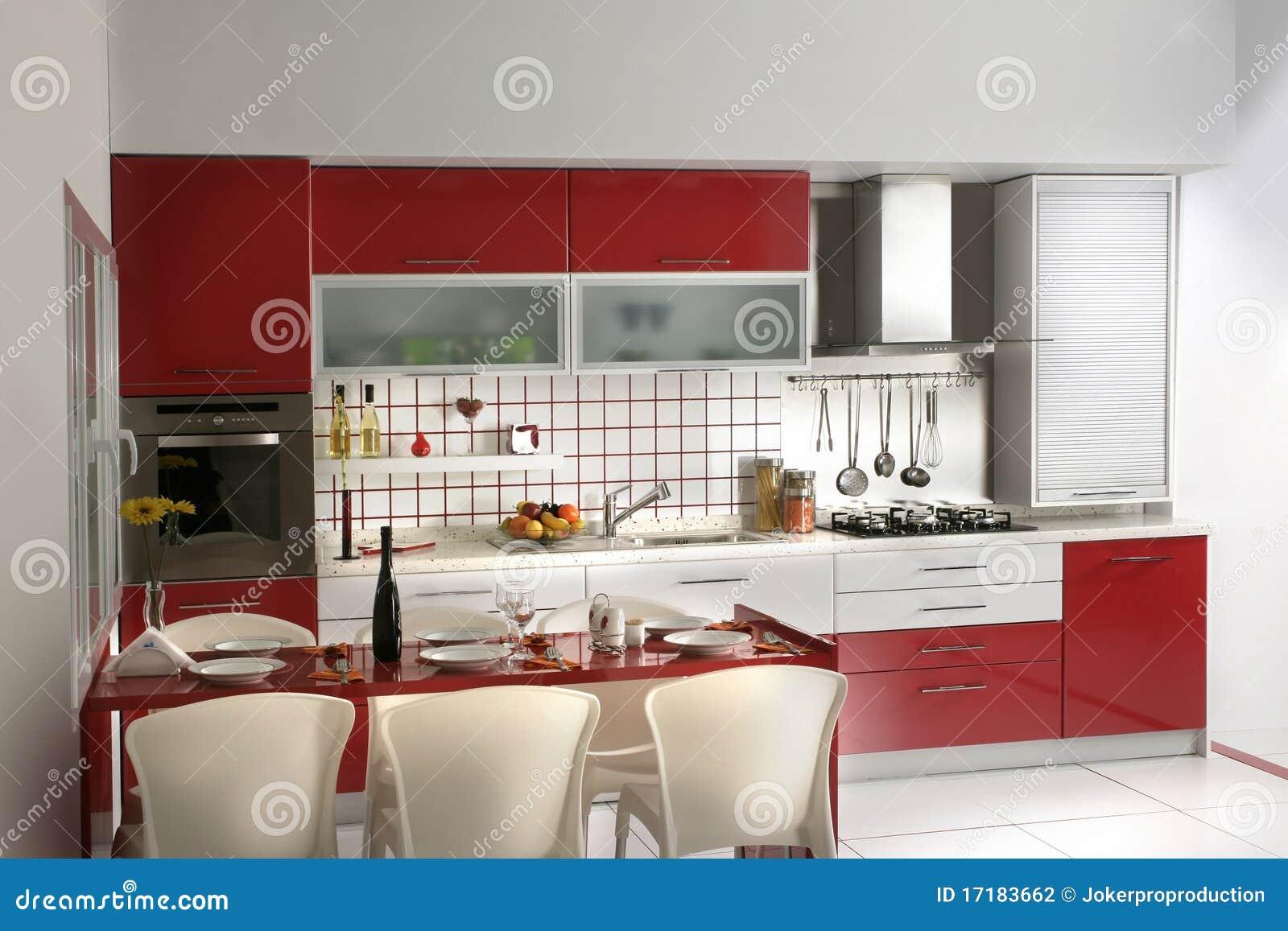 Moderne keuken stock foto afbeelding bestaande uit luxe 17183662 - Moderne keukenfotos ...