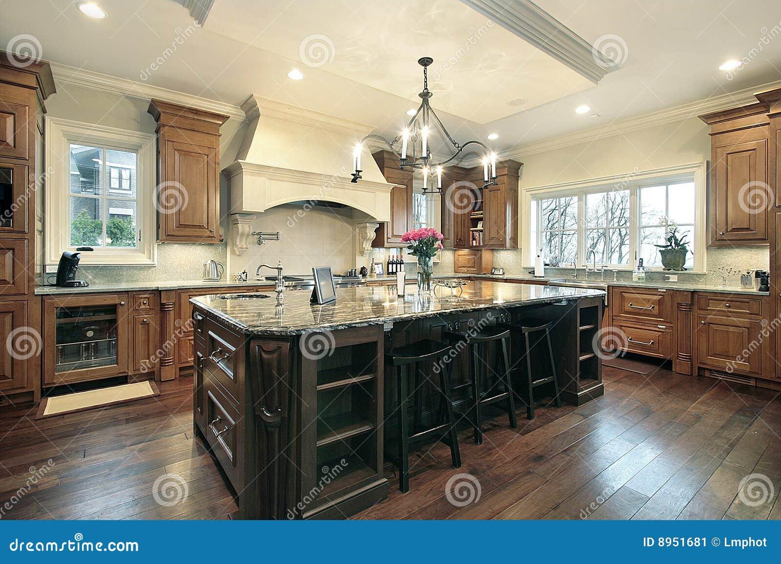 Moderne keuken stock afbeelding afbeelding 8951681 - Afbeelding moderne keuken ...
