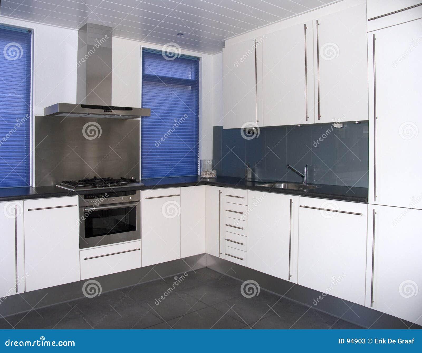 Moderne keuken stock afbeelding afbeelding bestaande uit binnenlands 94903 - Moderne keukenfotos ...