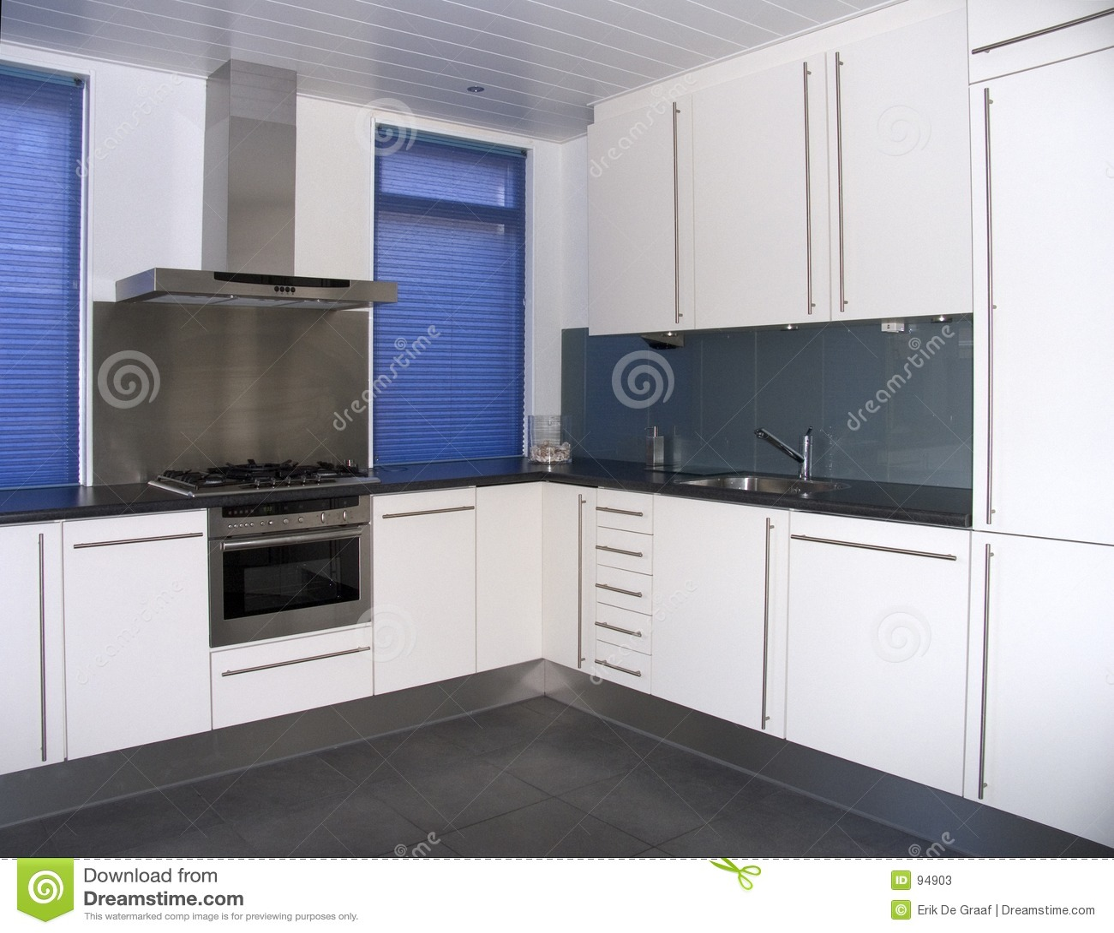 Moderne Keuken FotoS : Moderne Keuken Stock Foto's – Beeld: 94903