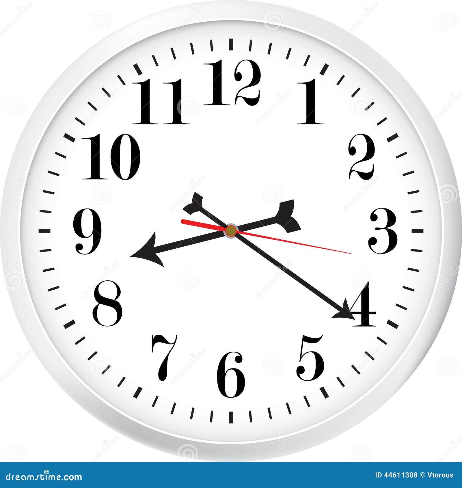 Moderne klok