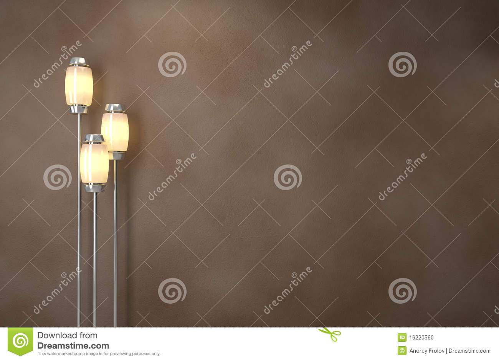 Moderne lampen. Zachte verlichting