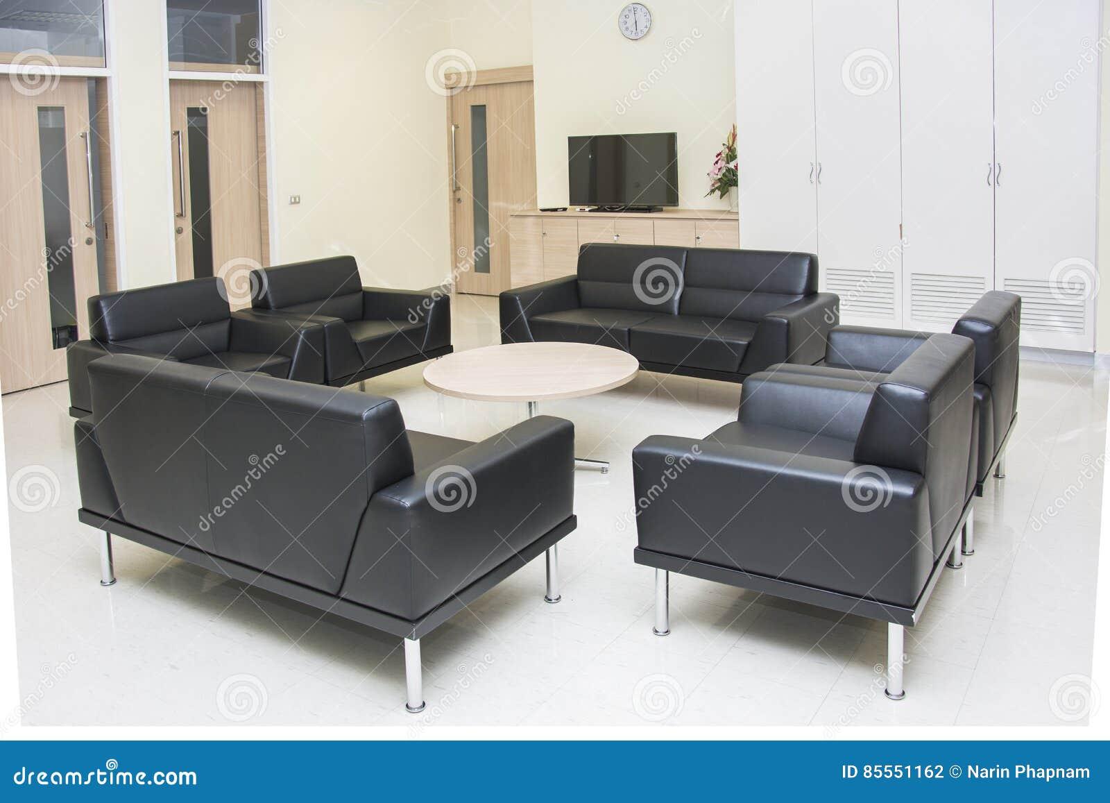Moderne Möbel in der Raumwohnung