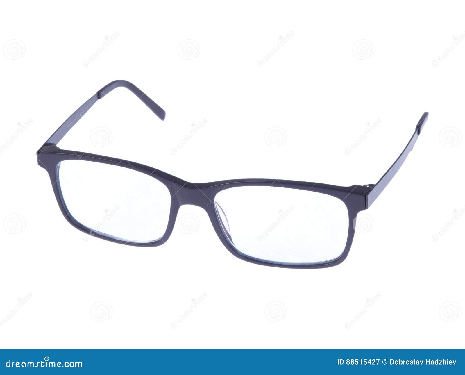 4d705f67383912 Moderne Modebrillen Auf Weißem Hintergrund Stockbild - Bild von ...