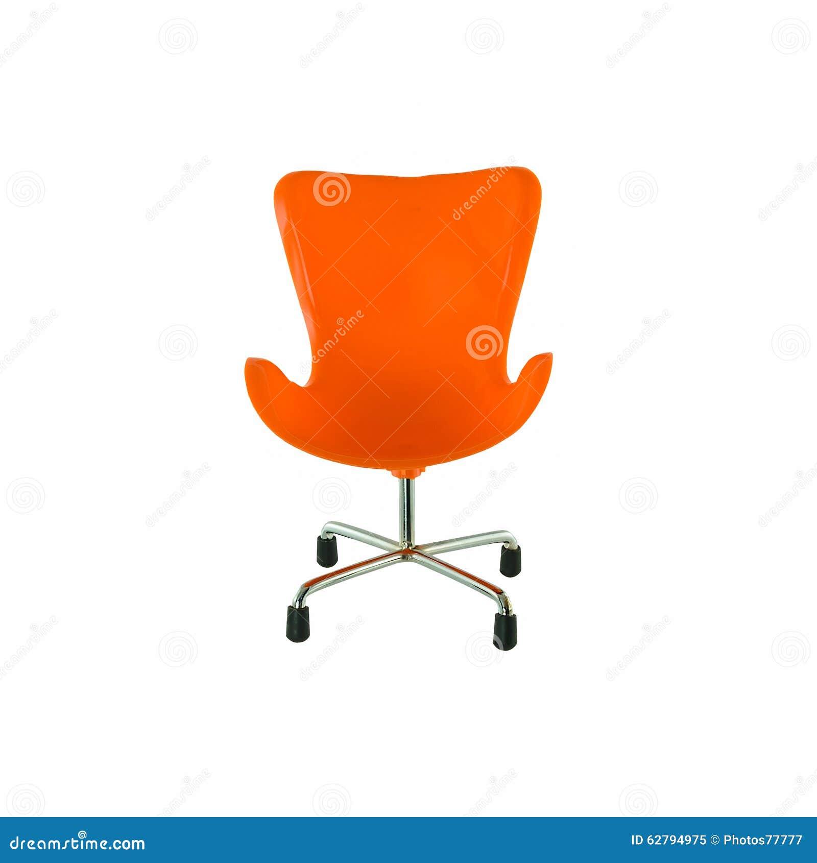 Moderne oranje stoel stock foto afbeelding 62794975 - Moderne stoel ...