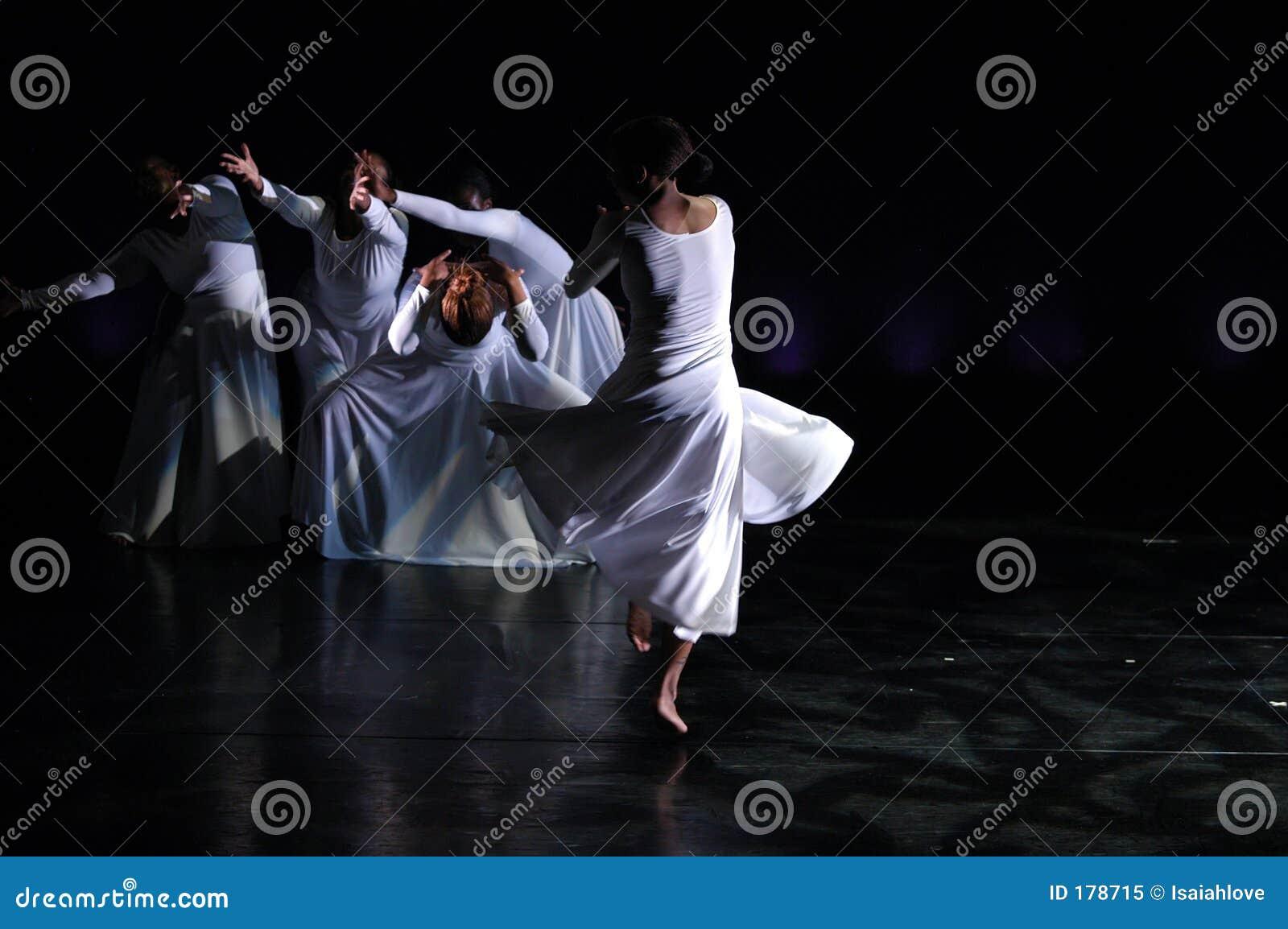 Moderne prestaties 1 van de Dans
