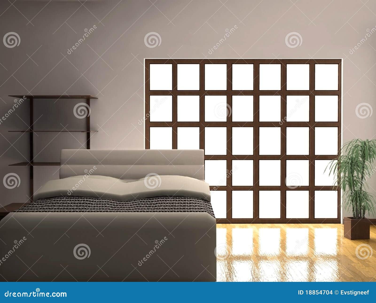 Fußboden Schlafzimmer Xl ~ Moderne schlafzimmer nacht stock abbildung illustration von