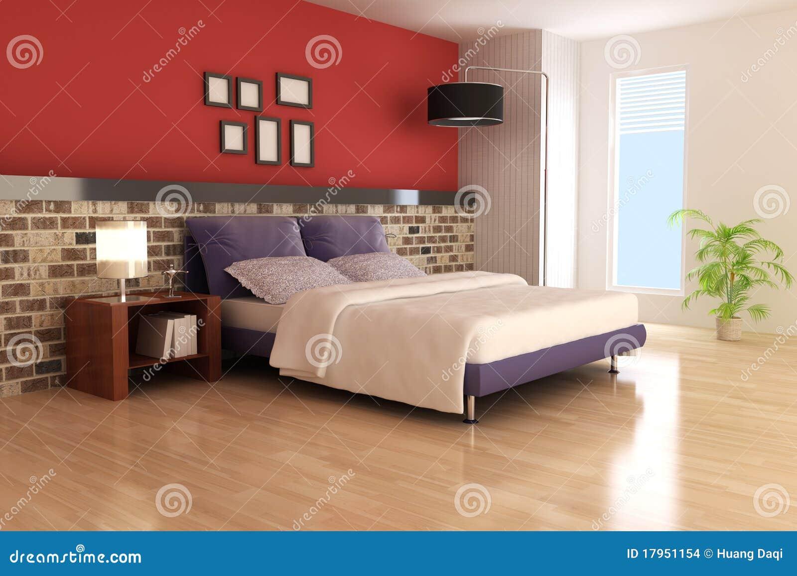 Moderne slaapkamer stock afbeeldingen beeld 17951154 - Eigentijdse stijl slaapkamer ...
