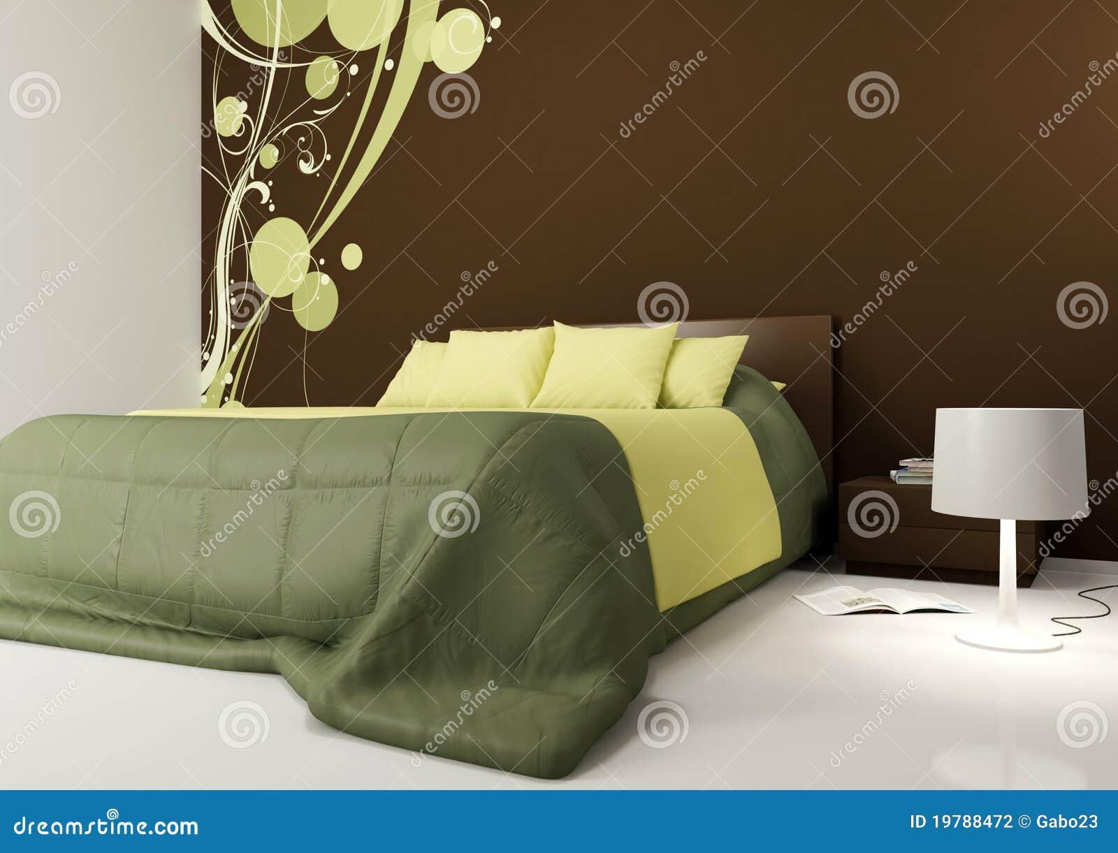 moderne slaapkamer stock illustratie afbeelding bestaande uit catalogus 19788472