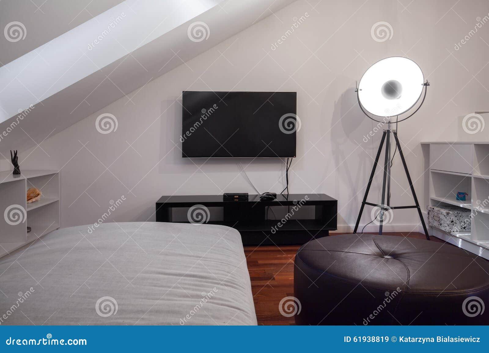 moderne slaapkamer voor een tiener