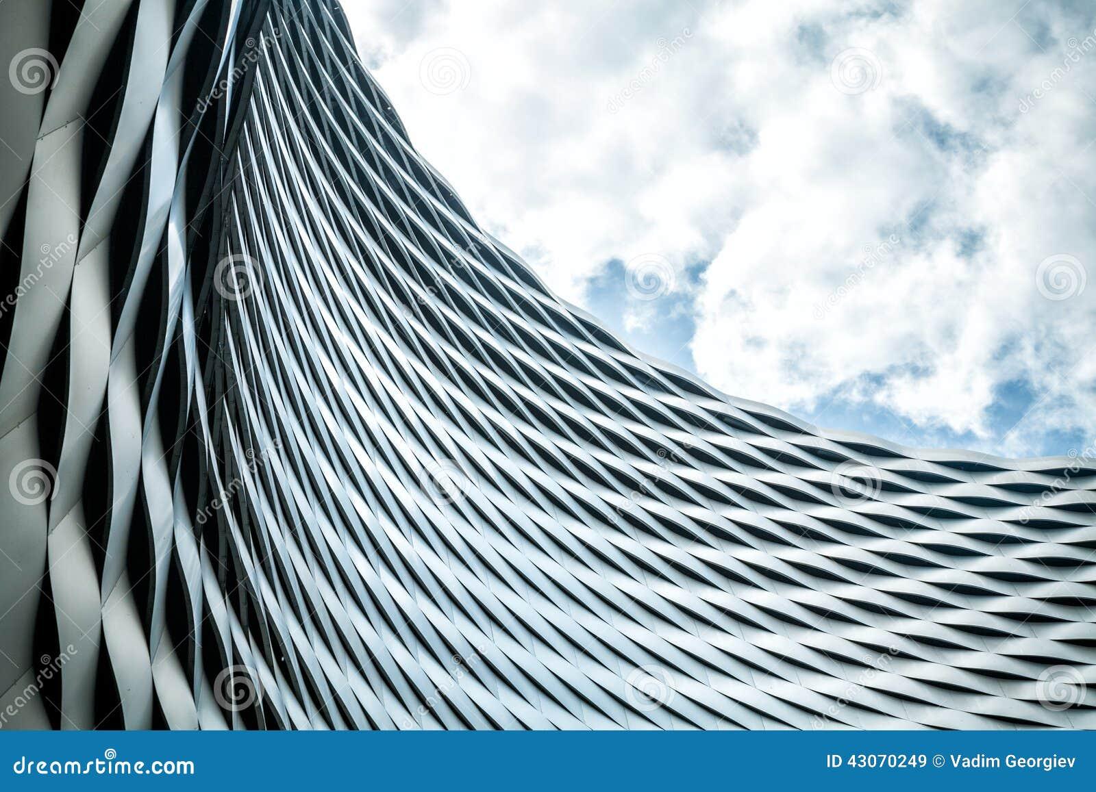 Moderne städtische Architektur
