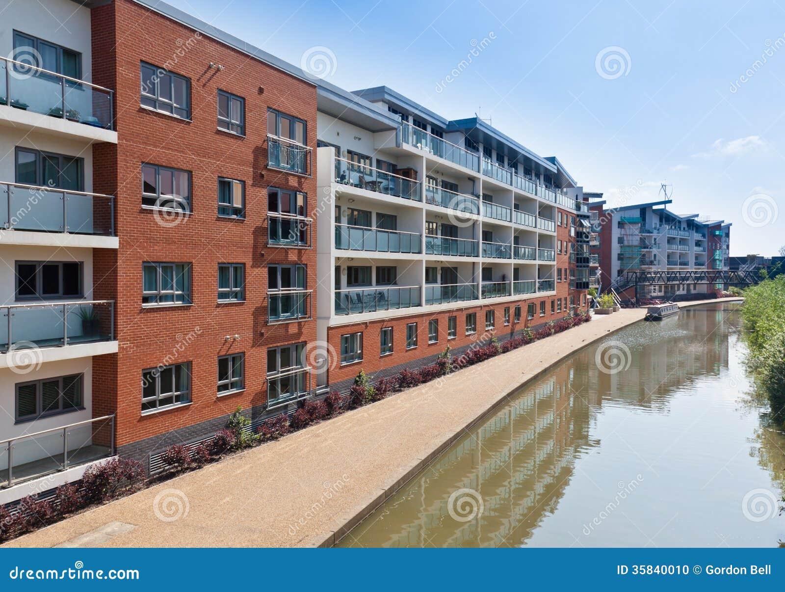 Moderne stedelijke huisvesting