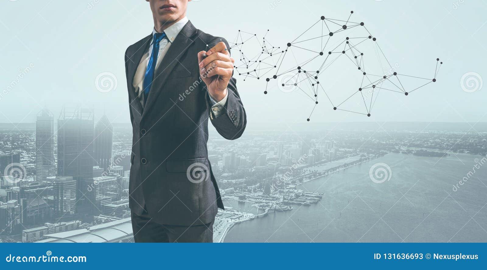 Moderne technologieën voor zaken Gemengde media