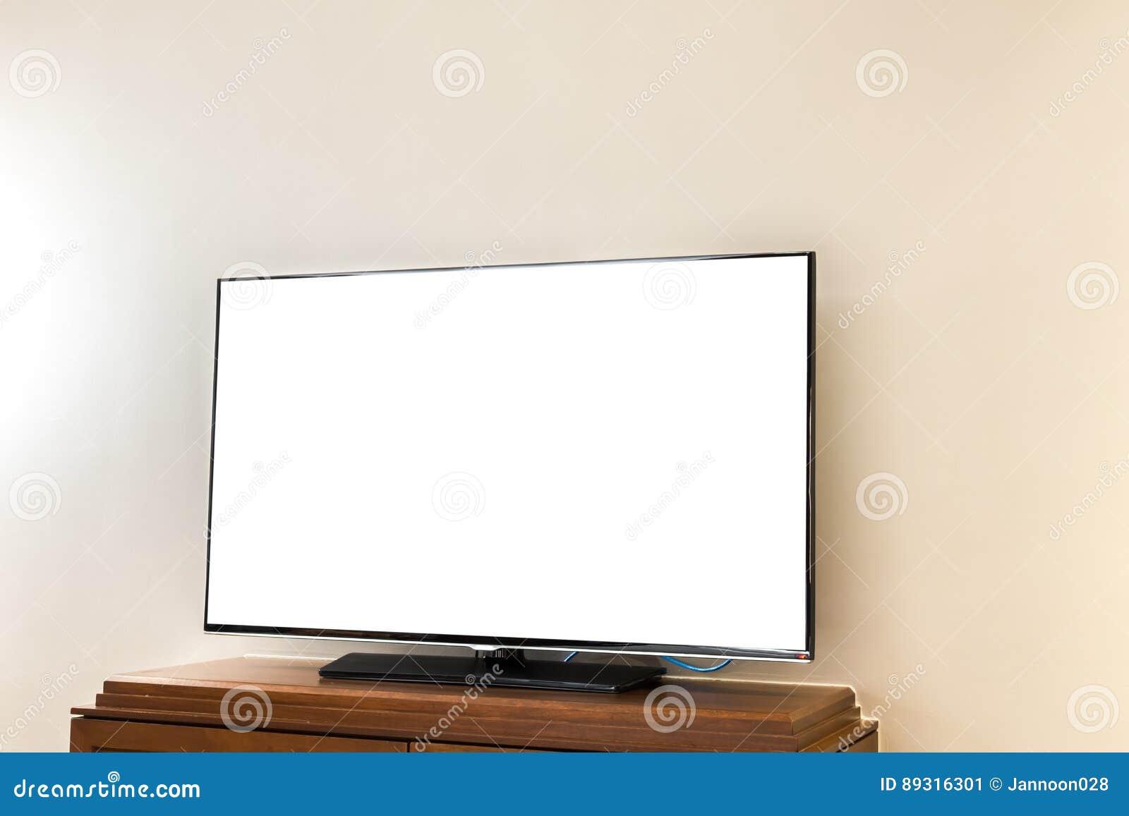 Retro Art Woonkamer : Moderne televisie in woonkamer stock afbeelding afbeelding