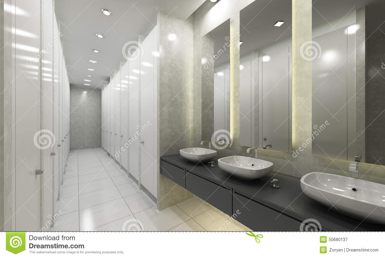 moderne toilet en toiletten stock afbeelding afbeelding. Black Bedroom Furniture Sets. Home Design Ideas