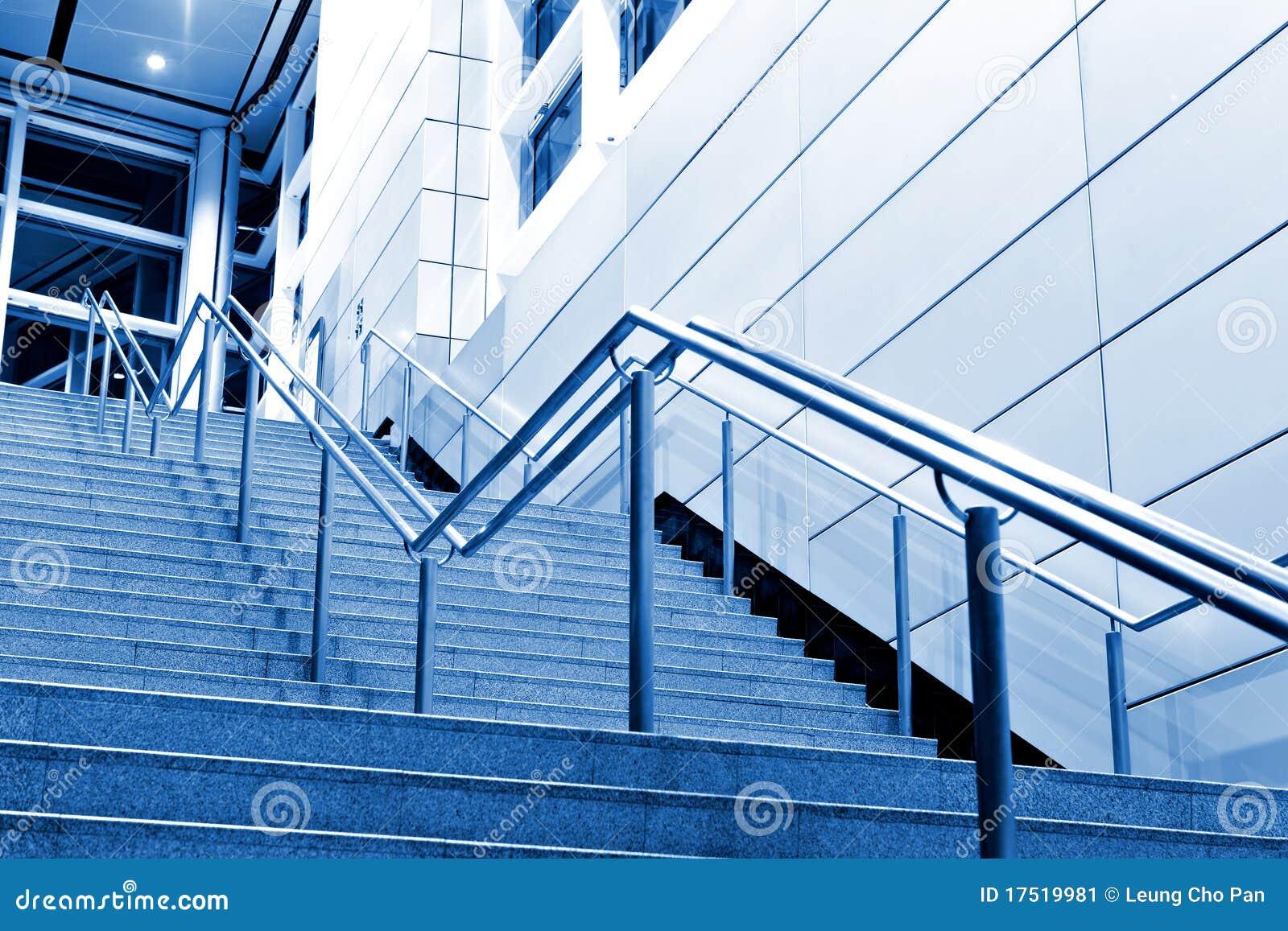 Moderne Treppen Stockbild - Bild: 17519981