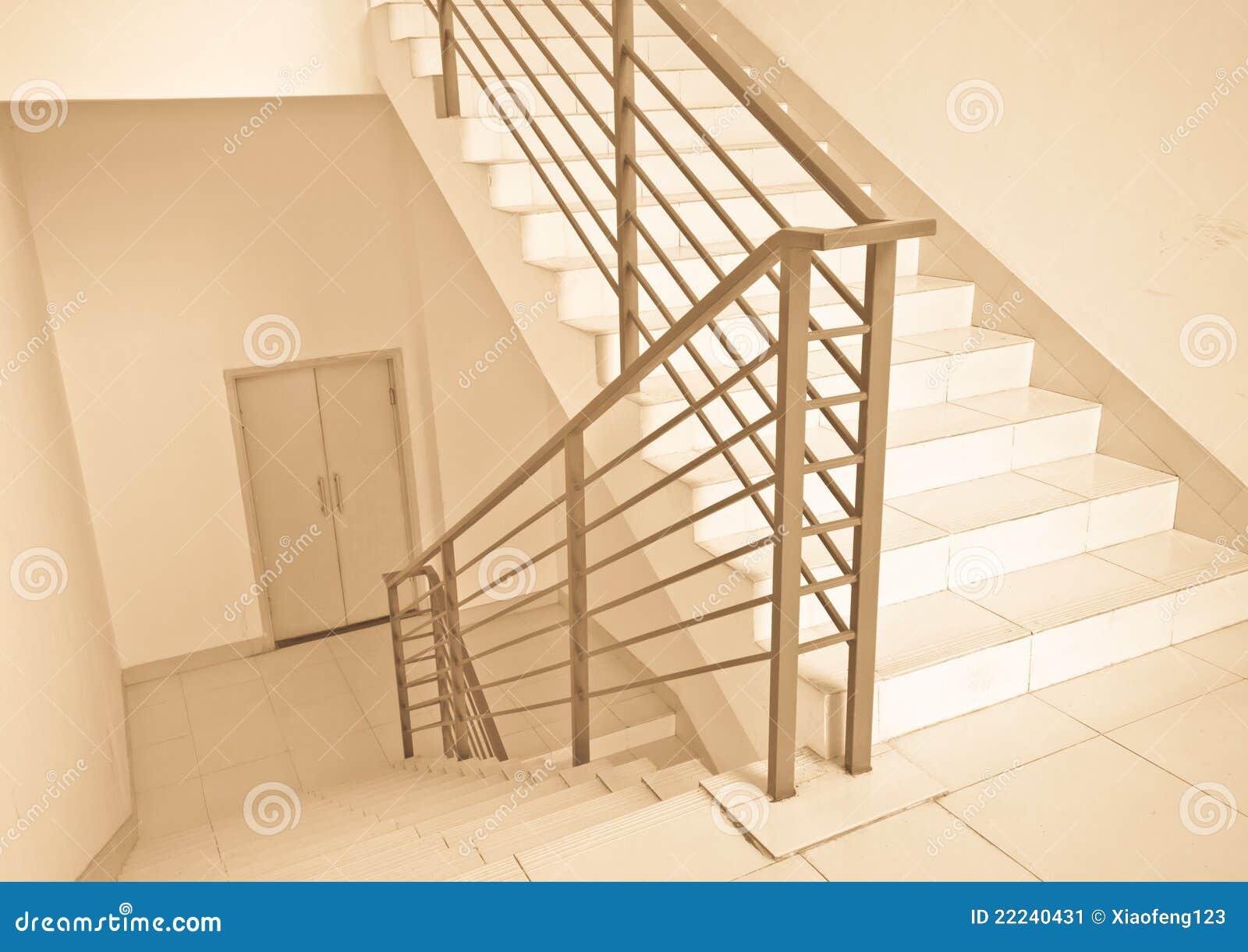 moderne treppen stockbild bild 22240431. Black Bedroom Furniture Sets. Home Design Ideas