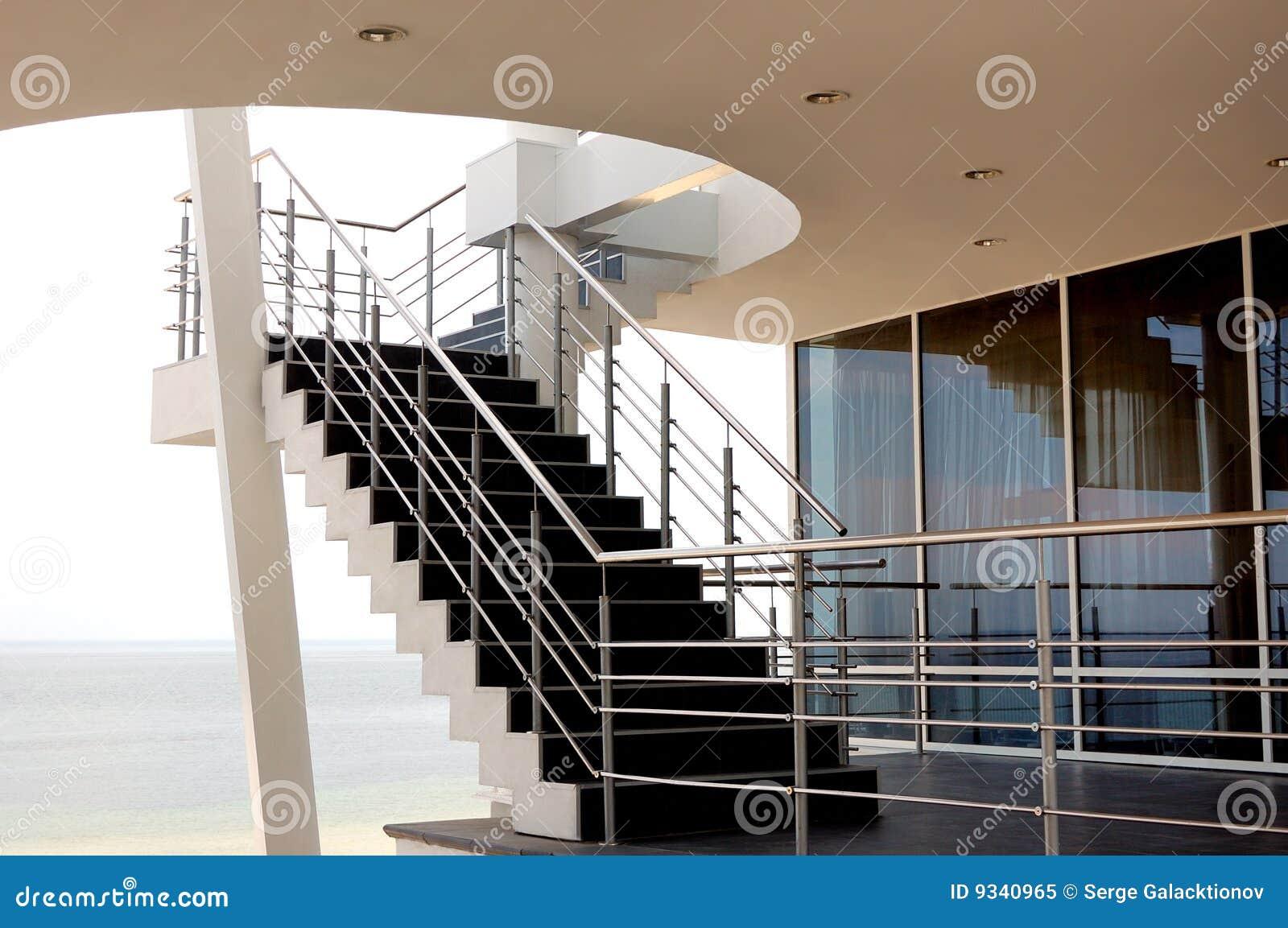 Großartig Moderne Treppen Referenz Von Pattern Stockbild. Bild Von Architektur, Decke -