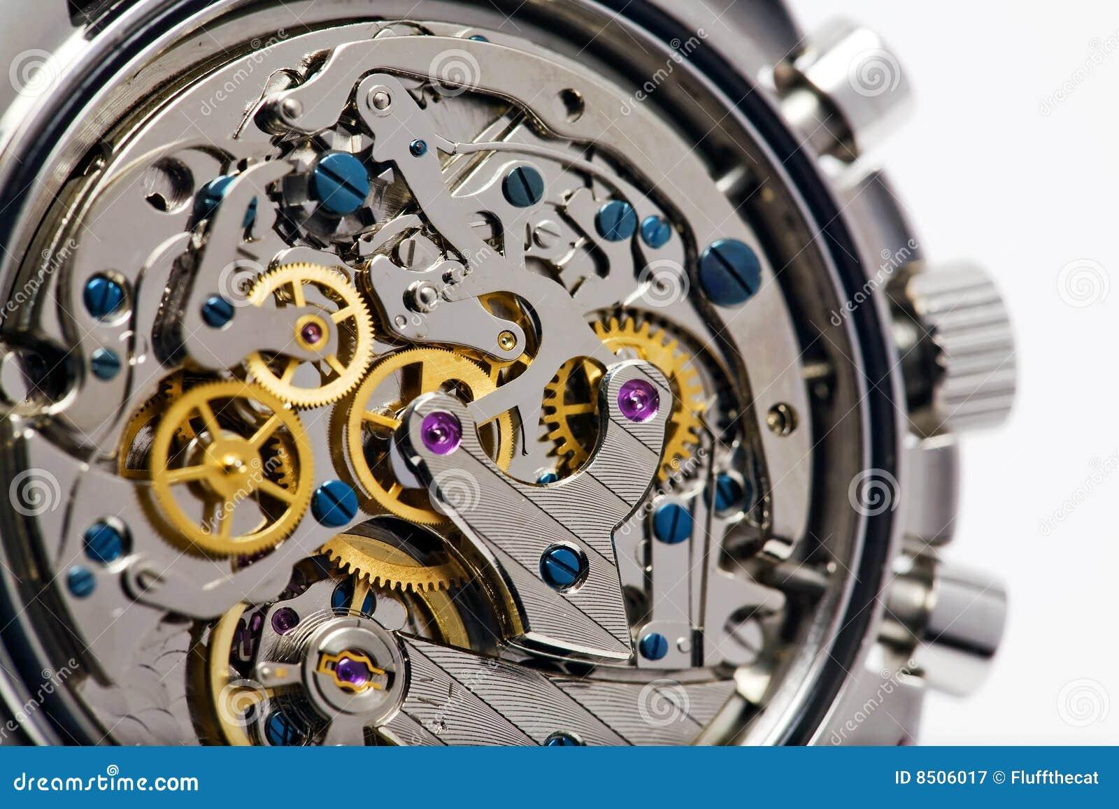 Moderne Uhr-Bewegung