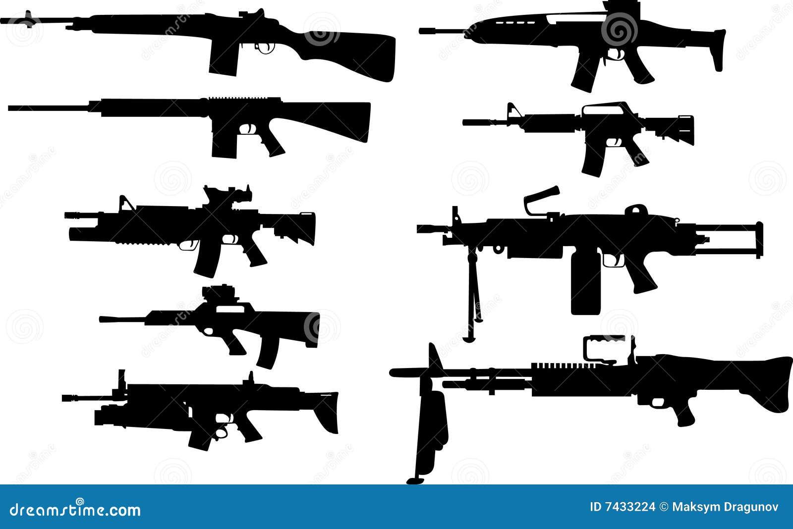 Moderne US-Waffen Stockbilder - Bild: 7433224