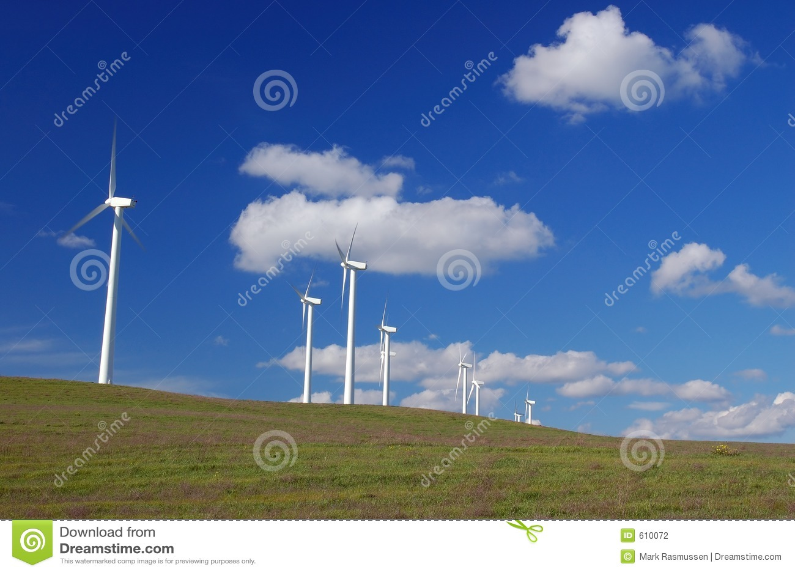 Moderne Windmolens
