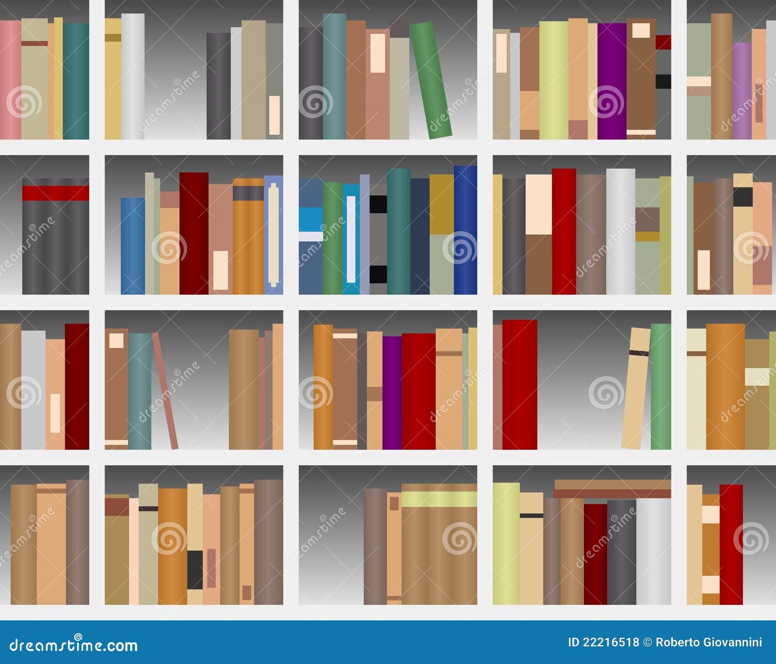 Moderne witte boekenkast royalty vrije stock foto 39 s afbeelding 22216518 - Moderne boekenkast ...