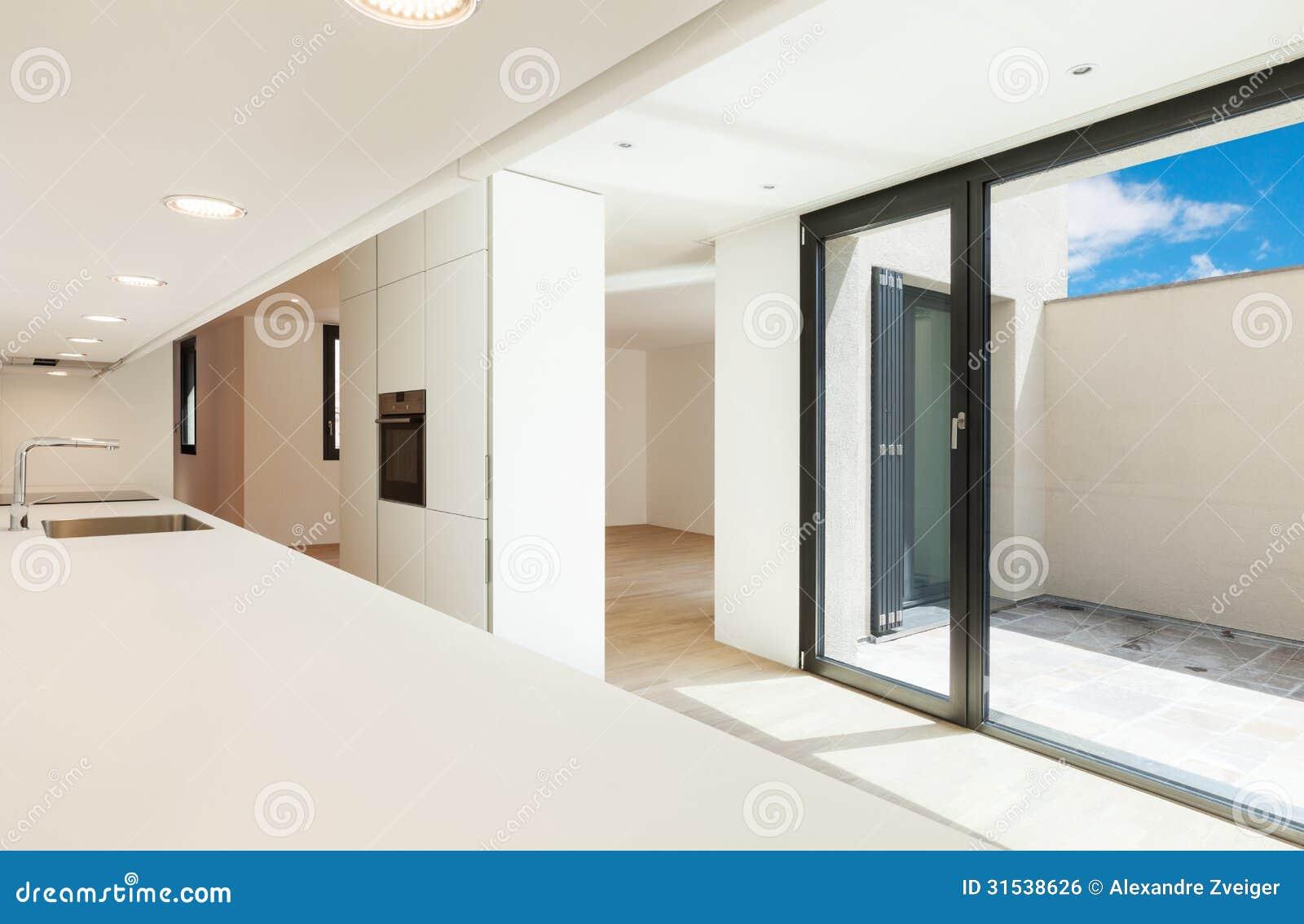 Moderne witte keuken stock foto afbeelding bestaande uit gootsteen 31538626 - Fotos moderne keuken ...
