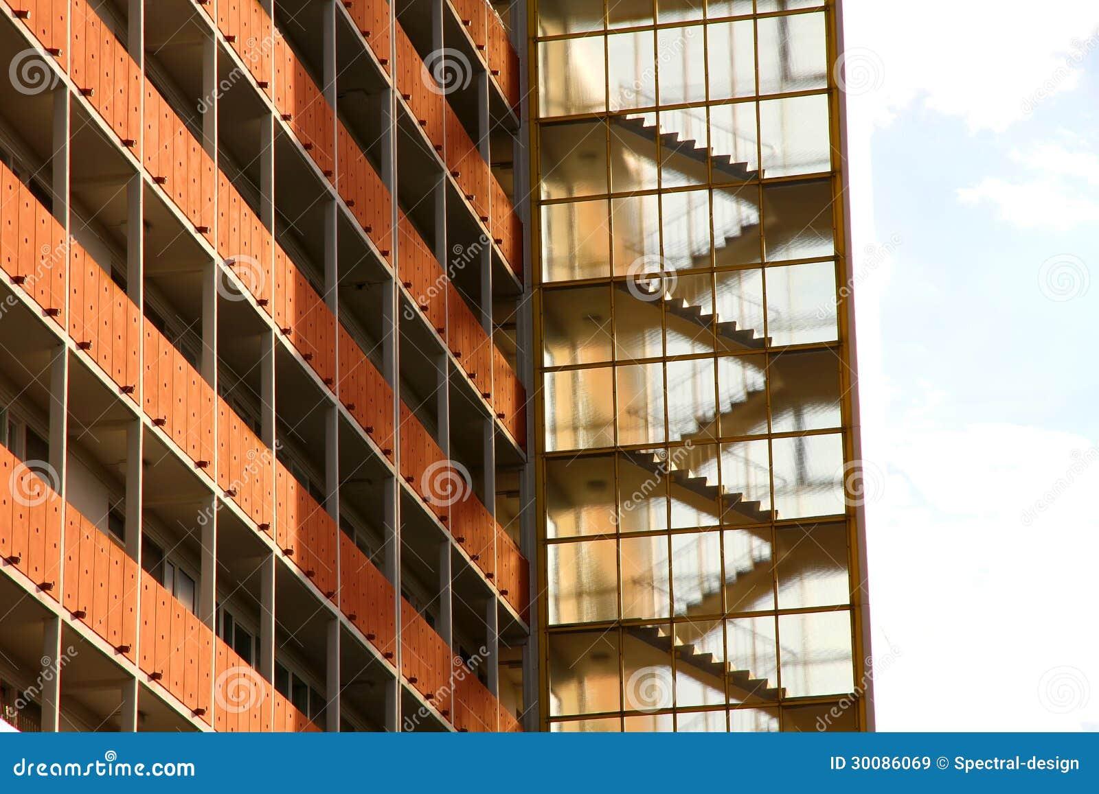 Moderne Architektur In Berlin Stockbild - Bild von outdoor, konkret ...