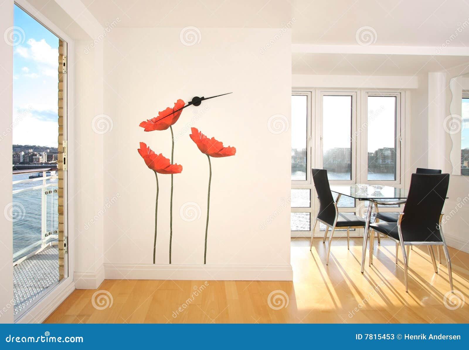 moderne wohnung stockfotos bild 7815453. Black Bedroom Furniture Sets. Home Design Ideas