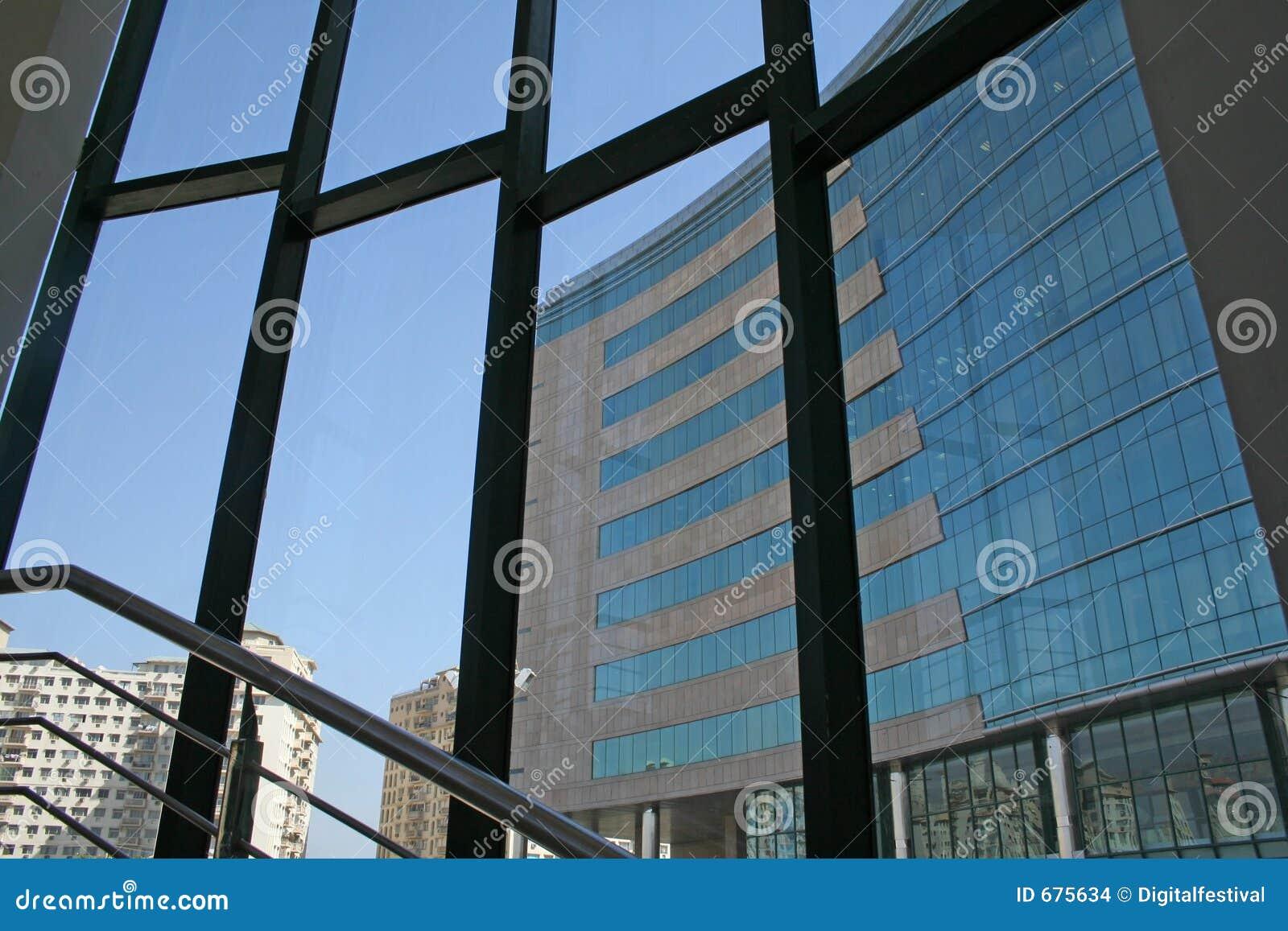 Moderne Wolkenkratzerarchitektur