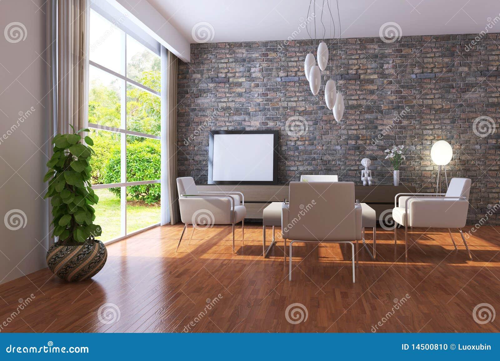 Moderne woonkamer stock illustratie afbeelding bestaande uit vloer 14500810 - Moderne woonkamer fotos ...