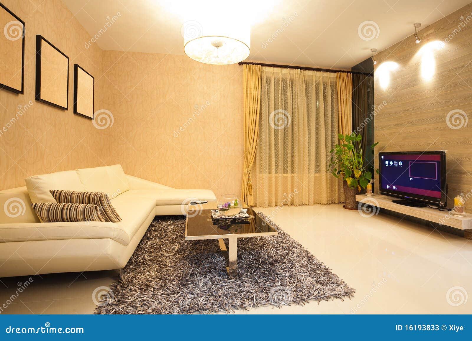 Moderne woonkamer stock foto's   afbeelding: 16193833