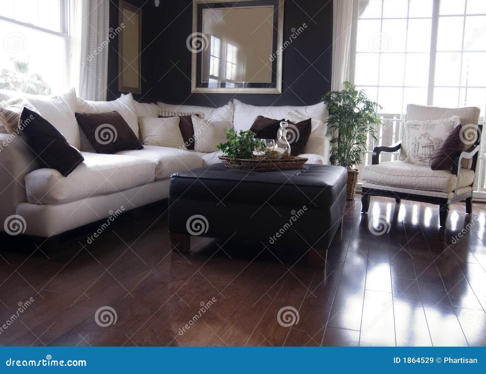 Moderne woonkamer royalty vrije stock afbeeldingen   afbeelding ...