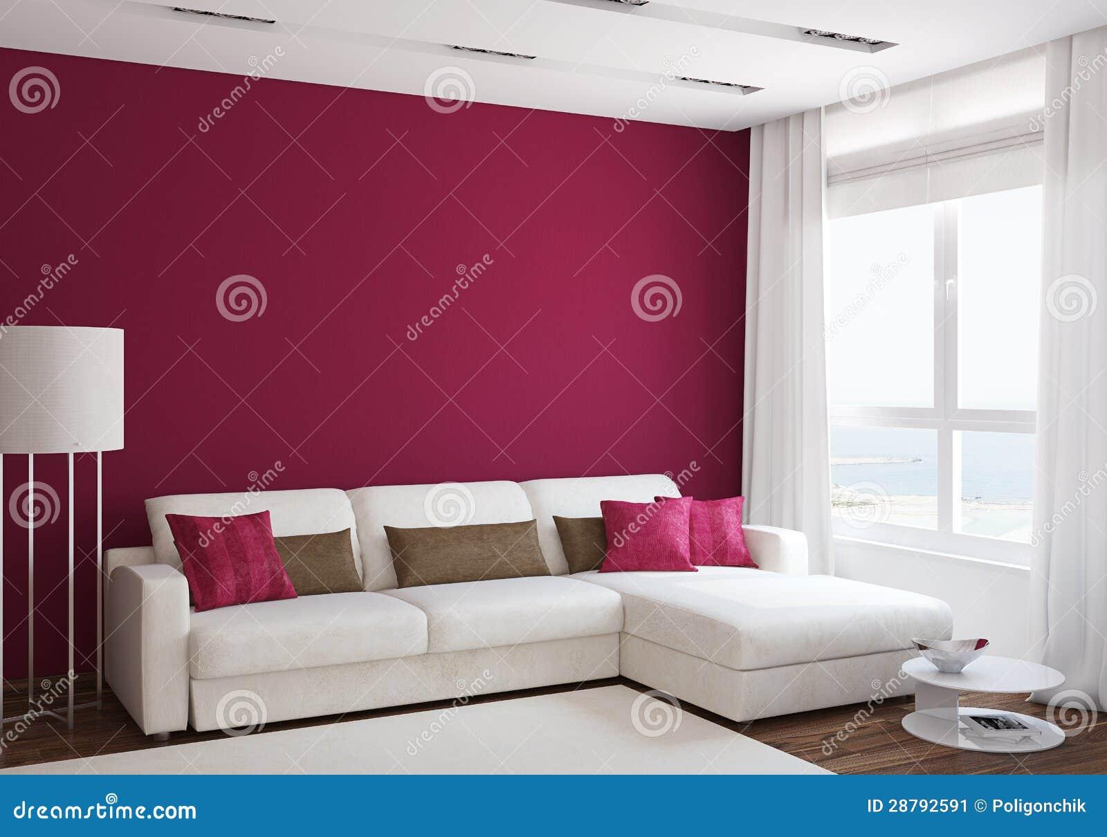 Moderne woonkamer stock afbeelding   afbeelding: 28792591