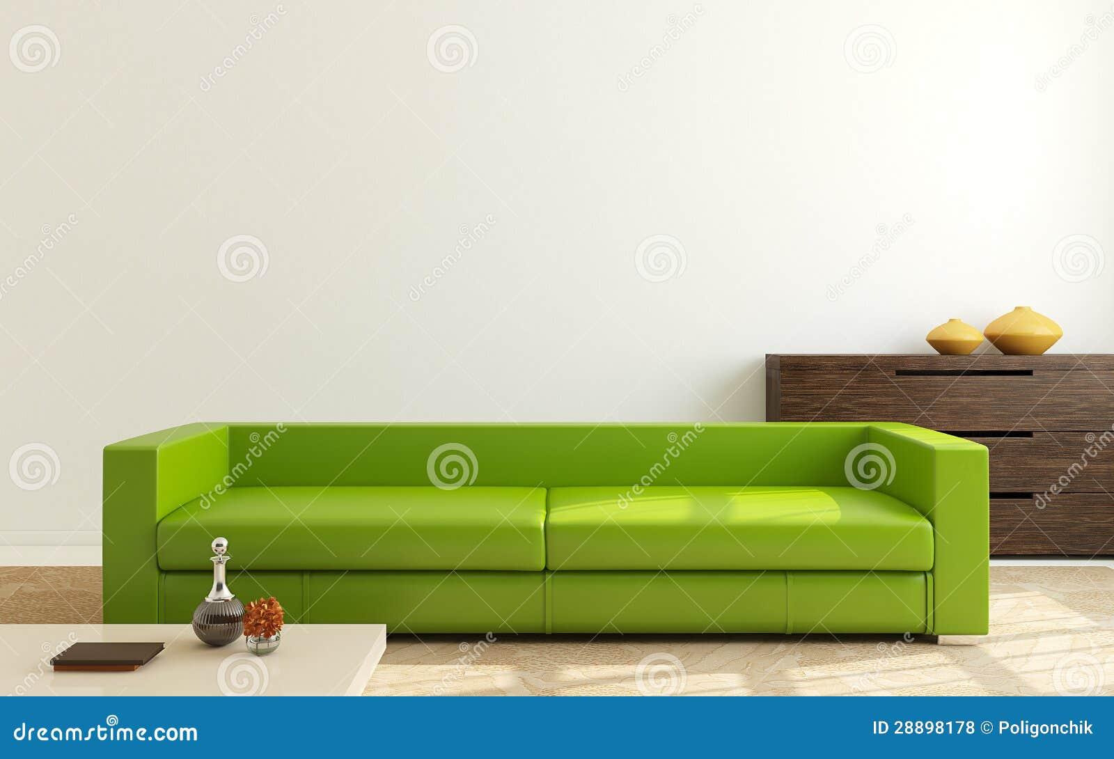 Moderne woonkamer.