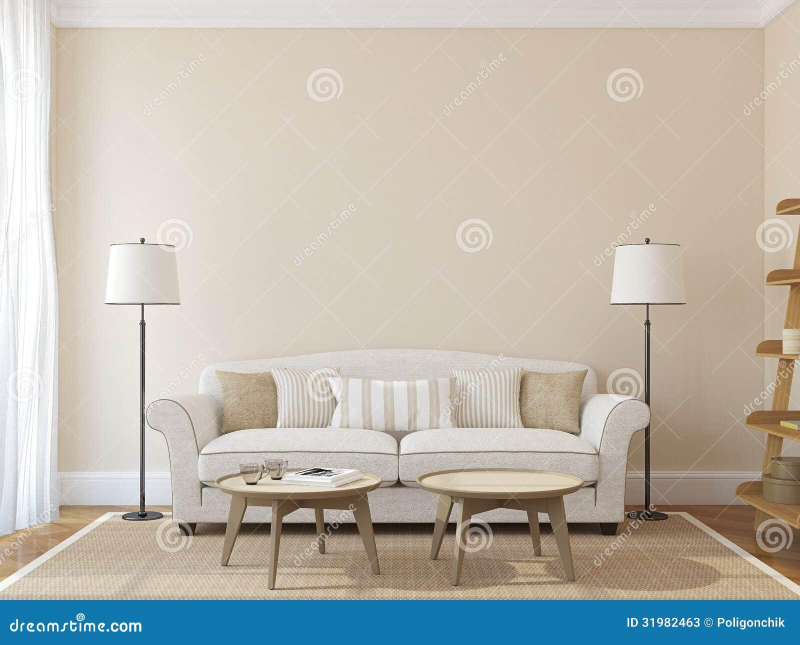 Moderne woonkamer stock foto's   afbeelding: 31982463