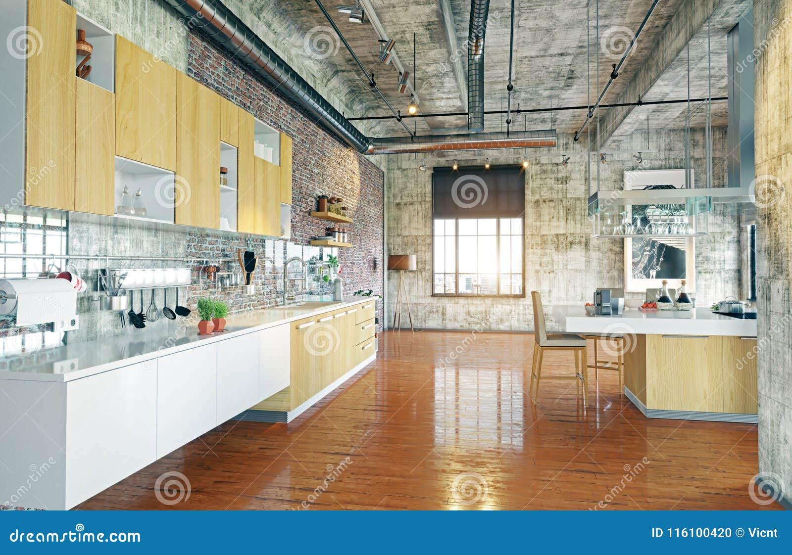Moderne zolder stock illustratie illustratie bestaande uit huis